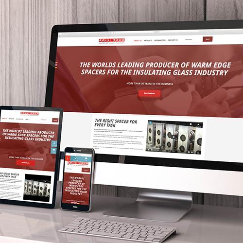 Rolltech new website