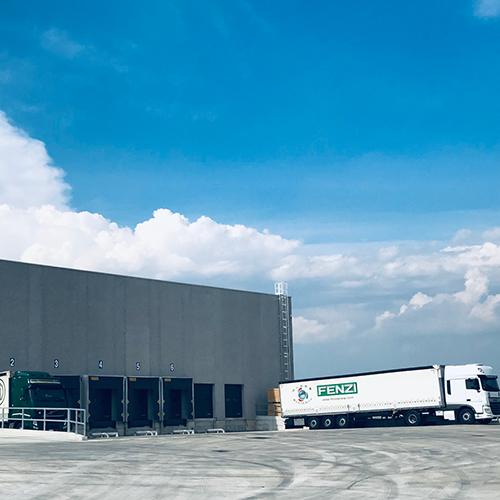New logistics center Fenzi